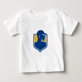 Industrial Worker Crest Icon Baby T-Shirt