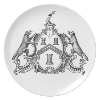 Industrious Freemason Plates