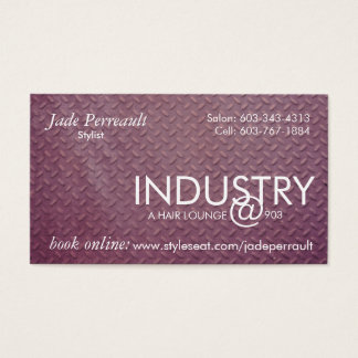 Industry Jade Business Card