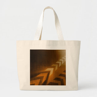 Industry Trends or Business Trending of Data Large Tote Bag
