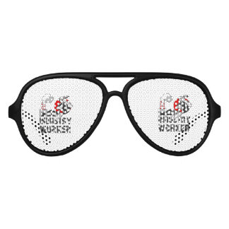 Industry worker aviator sunglasses