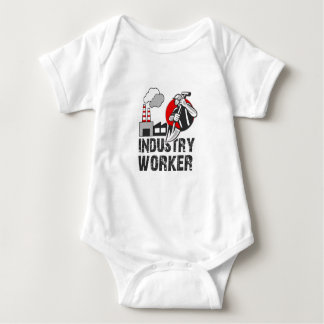 Industry worker baby bodysuit