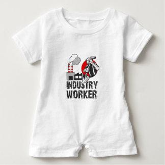 Industry worker baby romper