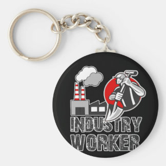 Industry worker keychain