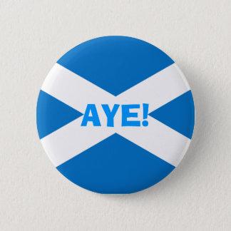 Indy Aye Scottish Flag Button