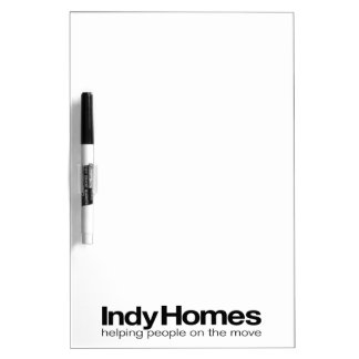 Indy Homes Team Dry Erase Board