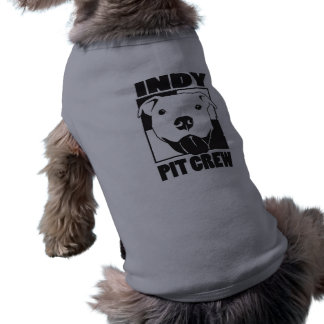 Indy Pit Crew Dog Shirt