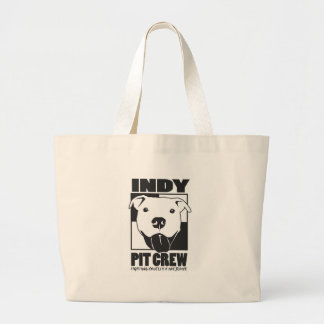 Indy Pit Crew Official Logo Jumbo Tote Bag