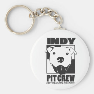 Indy Pit Crew Official Logo Keychain