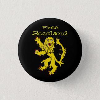 Indy Scotland Lion Rampant Pinback 1 Inch Round Button