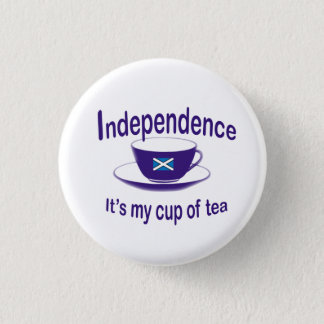 #indyref  Independence My Cup of Tea Button