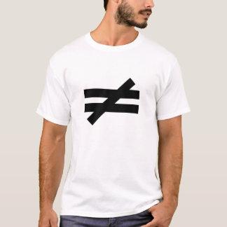 Inequality #4 - The eternal war - Abir Taha quote T-Shirt