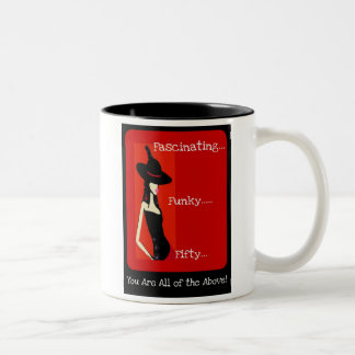 Inexpensive Funky 50th Birthday Gift - Mug