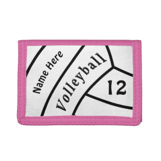 Inexpensive Personalized Volleyball Wallet
