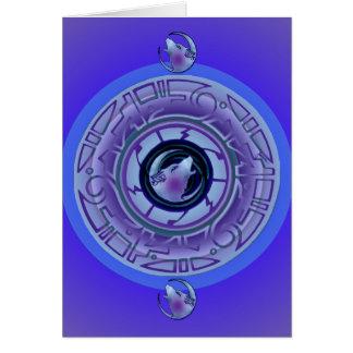 Inez Night Blank Card