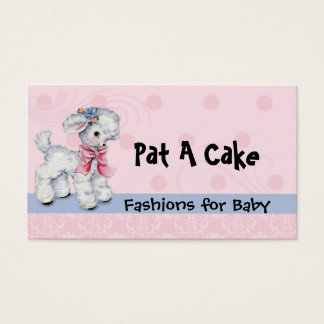 Infant and Children's Wear Vintage Lamb Business Card