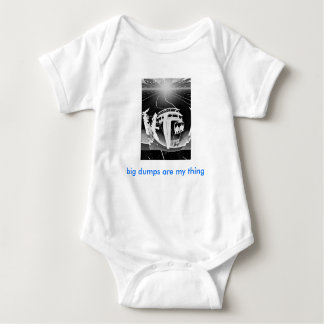 infant baby creeper skiing snow boarding