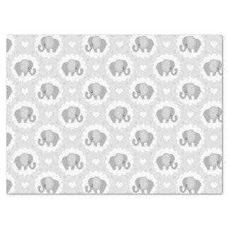 Infant Baby Neutral Elephant Shower Gift Tissue Paper