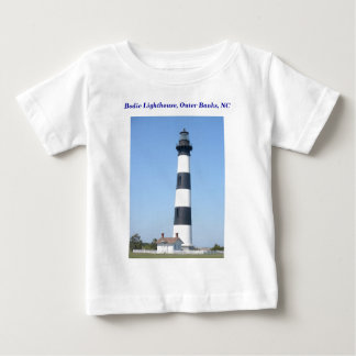 Infant/Baby Shirt Bodie Lighthouse Outer Banks OBX