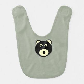 Infant bear bib