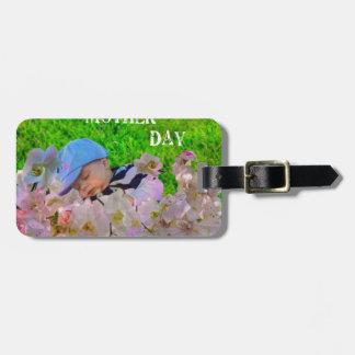 Infant celebrates Mother's day Bag Tag