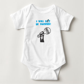 Infant creeper/baby bodysuit - No pacifier!