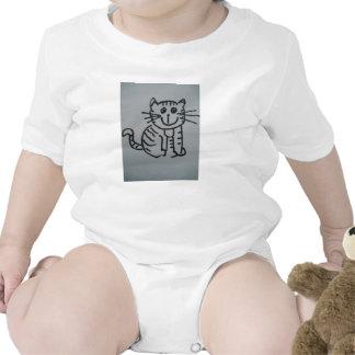 INFANT CREEPER - CUTE CAT BODYSUITS