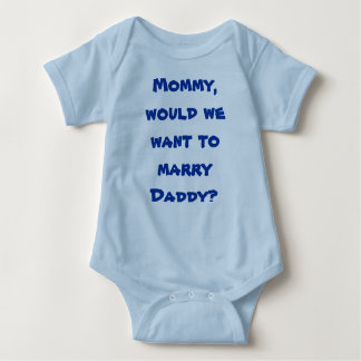 Infant Creeper Mommy marry Dad