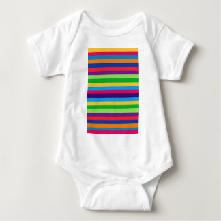 Infant Creeper with Fun Stripes