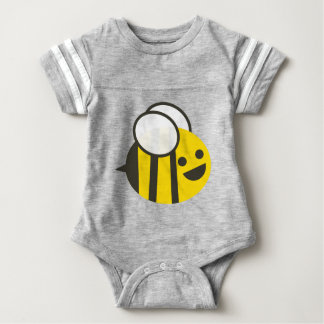 Infant Grey Bumbling Bumble Bee Tee