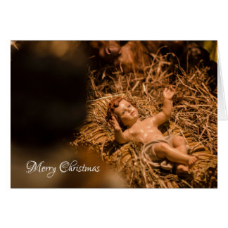 Infant Jesus Card