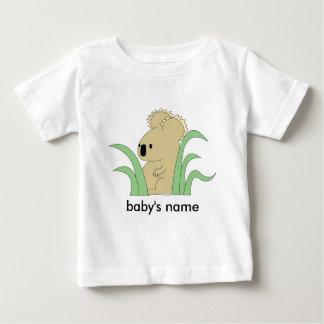 infant koala in eucalyptus t-shirt