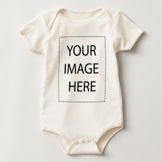 Infant Long SleeveT-Shirt Template Baby Creeper