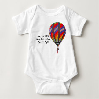 Infant Onesy With Hot Air Balloon Baby Bodysuit