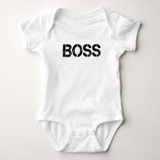 """Infant Onsie - """"Boss"""" Print Baby Bodysuit"""