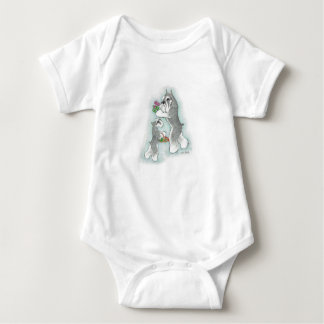Infant Romper Schnauzer Mom & Baby