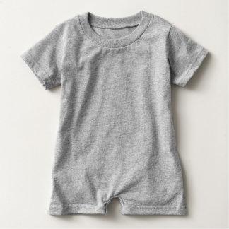Infant short sleeve romper