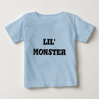Infant T-Shirt, Light Blue, Lil' Monster Baby T-Shirt
