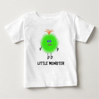 Infant TShirt Green Fur Ball Little Monster