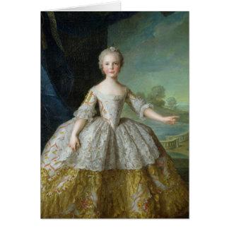 Infanta Isabelle de Bourbon-Parme  1749 Card