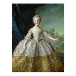Infanta Isabelle de Bourbon-Parme  1749 Postcard