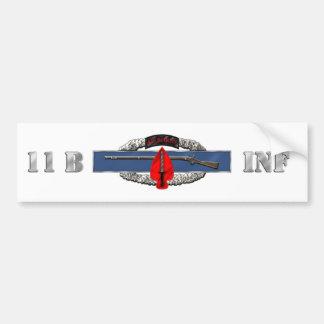INFANTRY 11B USASOC BUMPER STICKER