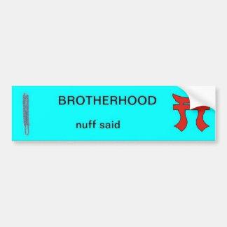 Infantry Brotherhood Bumper Sticker with Rakkasan