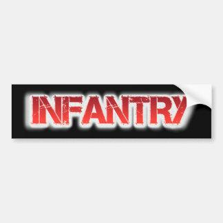 Infantry Bumper Sticker