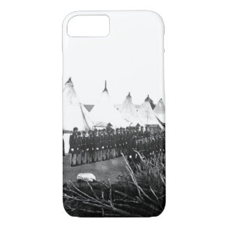 Infantry company on parade_War Image iPhone 7 Case