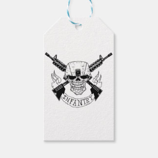 INFANTRY PACK OF GIFT TAGS