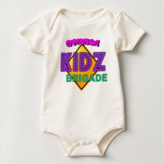 Infants Geocaching Kidz Brigade Graphic clothing Baby Bodysuit