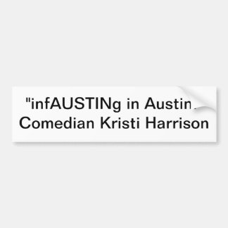infAUSTINg dans Austin Autocollant De Voiture
