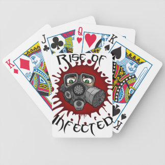 infected bicycle playing cards