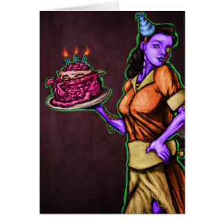 Infected Birthday Greeting Cards